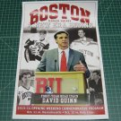 2013-14 NCAA Hockey Boston University Terriers DAVID QUINN Introduction Poster