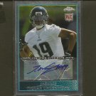 TIQUAN UNDERWOOD - 2009 Topps Chrome Autograph ROOKIE - Buccaneers & Rutgers