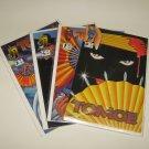 TOMOE Comic Book Run, Set, Lot #0,1,2,3 Crusade Comics