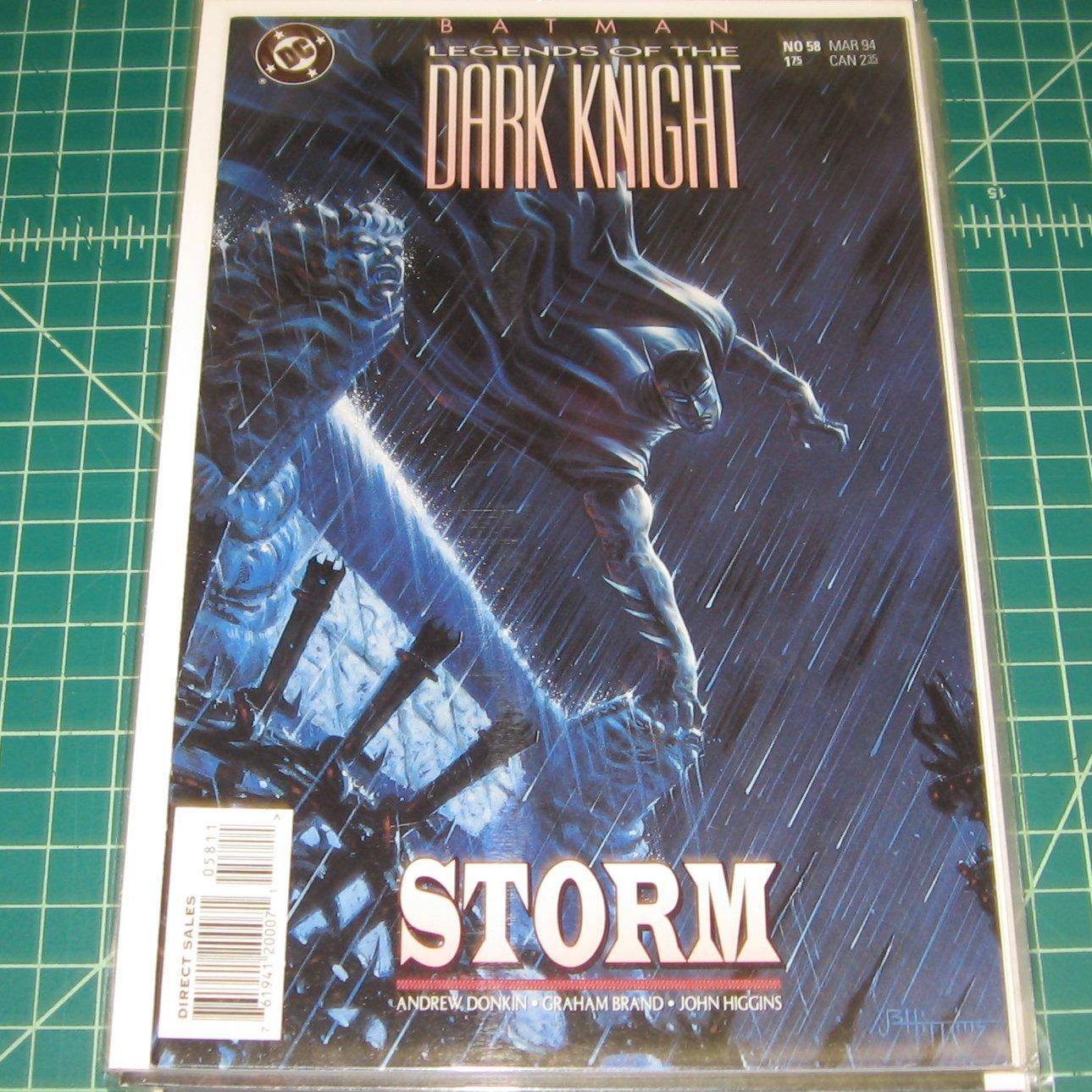 BATMAN Legends of the Dark Knight #58 - 1994 DC Comics - FIRST PRINT