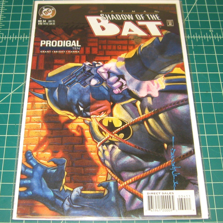 BATMAN Shadow of the Bat #34 - Alan Grant - DC Comics - Wild Knights - Knights End