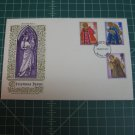 1972 Christmas FDC First Day Cover Stamp - Hastings, Sussex, Great Britain