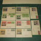 1936-1937 US Postal FDC Cachet Set of 10- First Day Issue - Scott # 785-789,790-794, Annapolis