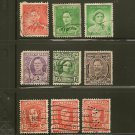 Australia King George VI & Queen Elizabeth Definitives Postage Stamp Lot x9