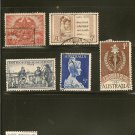 Australia Postage Stamp Lot x5