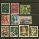 Netherlands Postage Stamp Lot x10 - A,33,A48,A54,A75,A79