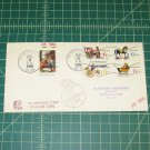 1970 Christmas FDC -USA & Israel- Bethlehem Block of 4 Airmail - Scott #1414,1415-1418