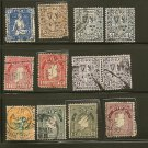 IRELAND Postage Stamp Lot x50