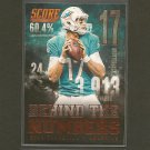 RYAN TANNEHILL 2014 Score Behind the Numbers - Texas A&M & Dolphins