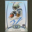 TY T.Y. HILTON 2012Topps Platinum Rookie Autograph RC - Colts & Florida International