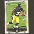 DRI ARCHER 2014 Topps Rookie RC - Steelers & Kent State