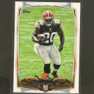 TERRANCE WEST 2014 Topps Rookie RC - Browns & Towson Tigers