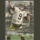 DREW BREES 2014 Topps 4000 Yard Club - Saints & Purdue Boilermakers