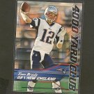 TOM BRADY 2014 Topps 4000 Yard Club - Patriots & Michigan Wolverines