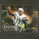 PHILIP RIVERS 2014 Topps Fantasy Focus - Chargers & NC State Wolfpack