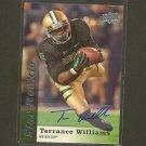 TERRANCE WILLIAMS 2013 Upper Deck Star Rookie Autograph RC - Cowboys & Baylor Bears