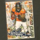 KNOWSHON MORENO 2014 Topps 1000 Yard Club - Broncos & Georgia Bulldogs