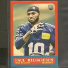 PAUL RICHARDSON 2014 Topps 1963 MINI Rookie RC - Colorado Buffaloes & Seahawks