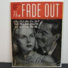 THE FADE OUT 2014 Comic Book #1 VARIANT Image Comics - Autograph/Signed by Sean Phillips
