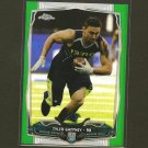 TYLER GAFFNEY 2014 Topps Chrome GREEN Refractor Rookie RC Panthers & Stanford Cardinal