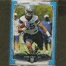 DEVIN STREET 2014 Topps Chrome BLUE WAVE Refractor Rookie RC Dallas Cowboys & Pitt Panthers