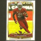 PATRICK PETERSON 2014 Topps Chrome Refractor - Arizona Cardinals & LSU Tigers