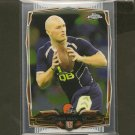 CONNOR SHAW 2014 Topps Chrome Rookie RC Cleveland Browns & Gamecocks