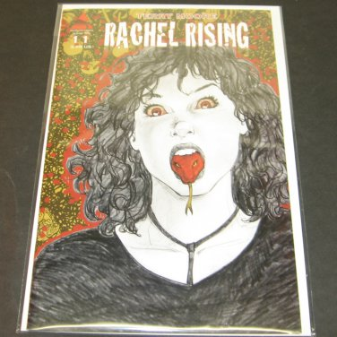RACHEL RISING #11 - FIRST PRINT Abstract Studios Comic by Terry Moore