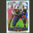 MARIO WILLIAMS 2014 Topps Chrome Refractor - Buffalo Bills & NC State Wolfpack