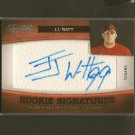 JJ WATT 2011 Panini Timeless Treasures Autograph Rookie Card RC - Houston Texans & Wisconsin Badgers