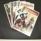 The DELINQUENTS 2014-current Valiant Comic Book Lot/Set/Run #Pullbox Preview,1,2,3,4