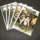 THE VALIANT 2014-current Valiant Comic Book Lot/Set/Run #Preview,1,2,3,4