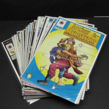 ARCHER & ARMSTRONG 1991 Run/Set/Lot of 27- FIRST PRINT - Valiant Comics Vol. 1