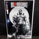 BLOODSHOT: Reborn #1 - 2015 FIRST PRINT Black & White Variant 1:100 - Valiant Comics