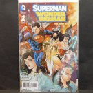 SUPERMAN WONDER WOMAN 2013 DC Comic Book New 52 #1 - Greg Pak, Jae Lee