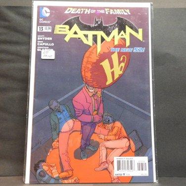 BATMAN 2015 Comic Book #13 - 2nd Print Balloon Variant DC Comics New 52
