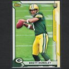 BRETT HUNDLEY 2015 Topps Take it to the House PROMO Rookie RC - UCLA Bruins & Packers