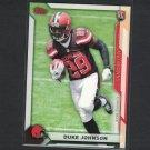 DUKE JOHNSON 2015 Topps Take it to the House PROMO Rookie RC - Miami Hurricanes & Browns