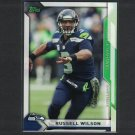RUSSELL WILSON 2015 Topps Take it to the House PROMO - Wisconsin Badgers & Seahawks
