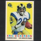 ERIC DICKERSON 2015 Topps 60th Anniversary Retro SMU Mustangs & Rams