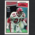 DEION SANDERS 2015 Topps 60th Anniversary Retro Seminoles & Atlanta Falcons