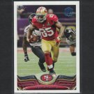 2013 VERNON DAVIS 2015 Topps 60th Anniversary BUYBACK Blue Stamp - San Francisco 49ers
