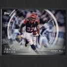 JEREMY HILL 2015 Topps Fantasy Focus Bengals & LSU Tigers