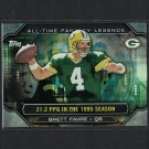 BRETT FAVRE 2015 Topps All-Time Fantasy Legends Southern Miss & Packers