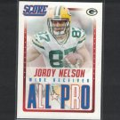 JORDY NELSON 2015 Score All-Pro - Kansas State Wildcats & Packers