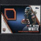 KEVIN WHITE 2015 Topps Jersey Patch/Relic Rookie RC - WVU Mountaineers & Chicago Bears