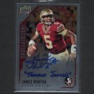 JAMEIS WINSTON 2015 UD Inscriptions Autograph Rookie RC - Seminoles & Buccaneers