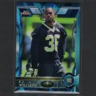 PJ P.J. WILLIAMS 2015 Topps Chrome Blue Wave Refractor Rookie RC - Seminoles & Saints