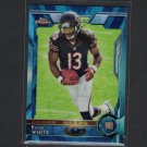 KEVIN WHITE 2015 Topps Chrome Blue Wave Refractor Rookie RC - Mountaineers & Chicago Bears