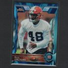 NATE ORCHARD 2015 Topps Chrome Blue Wave Refractor Rookie RC - Utah Utes & Cleveland Browns